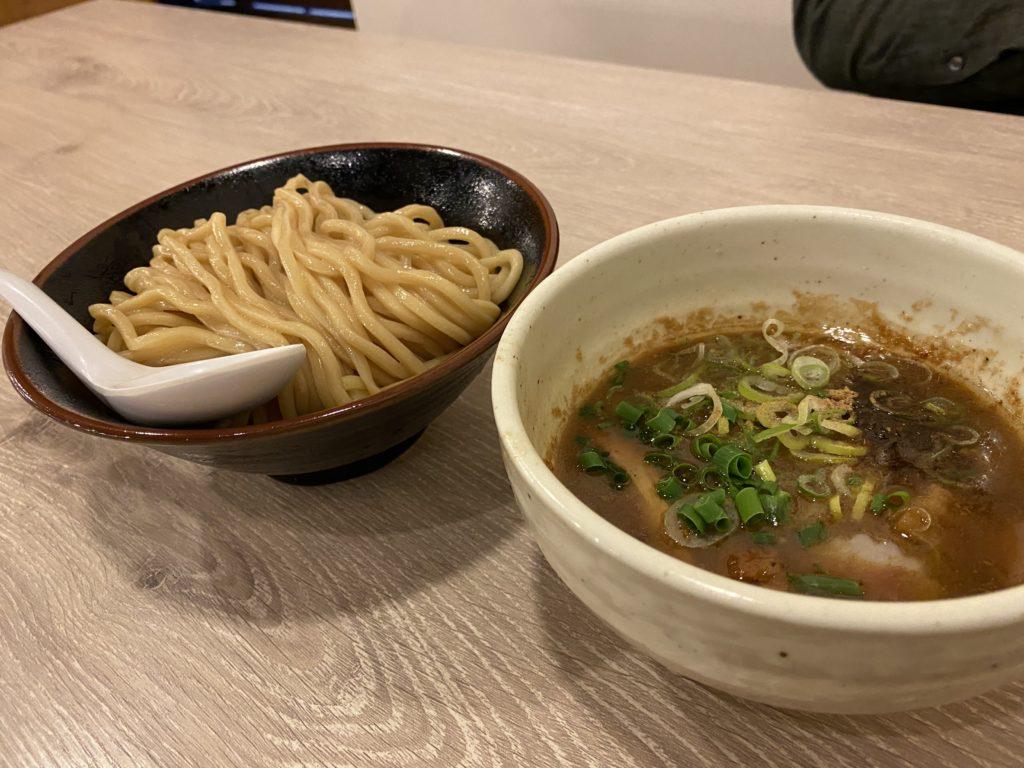 景勝軒のつけ麺