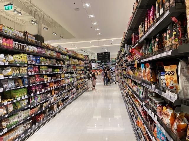 サイアムパラゴン-グルメマーケットの棚